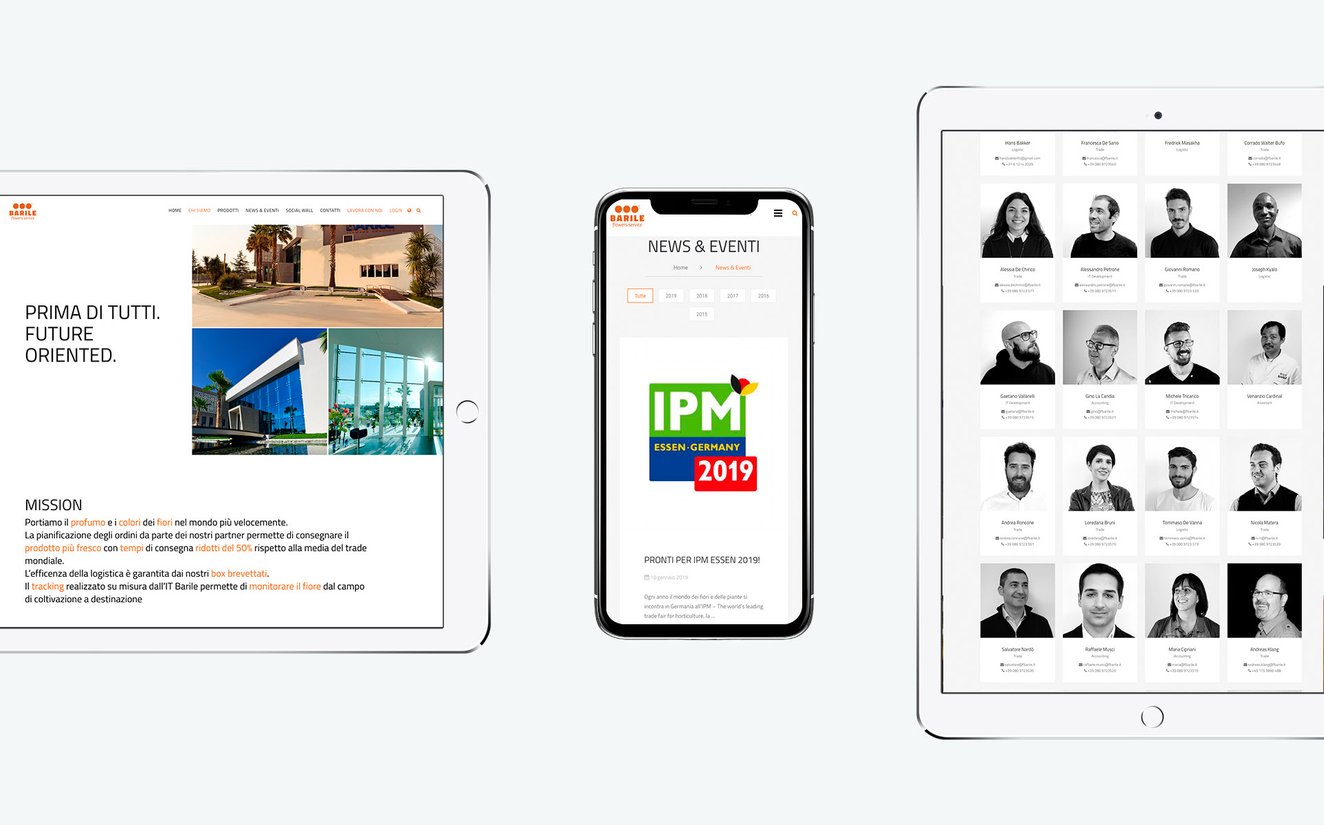 We Build Communication - Website